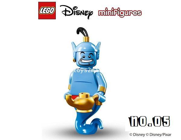 LEGO MINI FIGURE SERIES : DISNEY/PIXAR No.05 GENIE ยักษ์ในตะเกียง จินนี่ [5]