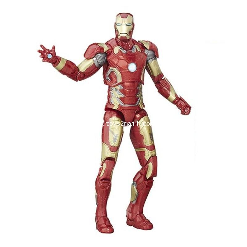 MARVEL LEGENDS : MARVEL\'S AVENGERS BEST OF MOVIE : IRON MAN MK 42 ไม่มีชิ้นส่วนBAF. [SOLD OUT]