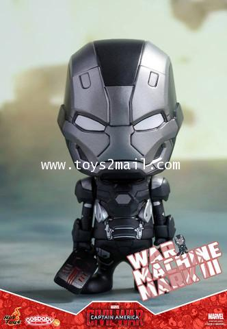HOT TOYS COSBABY : CAPTAIN AMERICA CIVIL WAR : WAR MACHINE MK III (COSB252) [SOLD OUT]