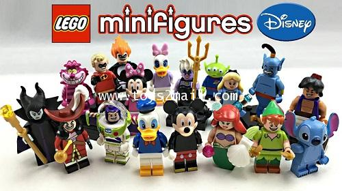 LEGO MINI FIGURE SERIES : DISNEY/PIXAR ครบชุด 18 แบบ รุ่นใหม่ล่าสุด 2016 [SOLD OUT]