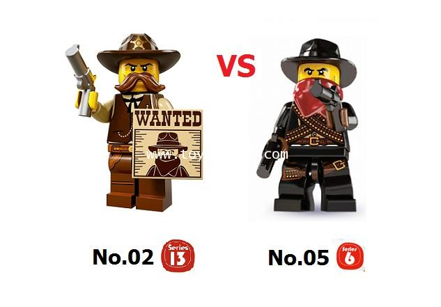 LEGO COLLECTION CUSTOM : THE JUSTIC SET เลโก้มินิฟิกเกอร์ชุด ความยุตติธรรม [1 SET]