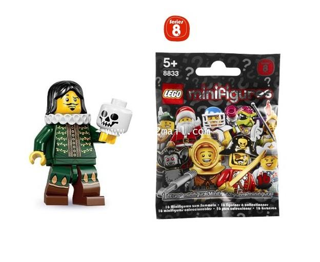 LEGO : LEGO MINI FIGURE SERIES 8 : No.14 ACTOR นักแสดงชาย [RARE] [SOLD OUT]