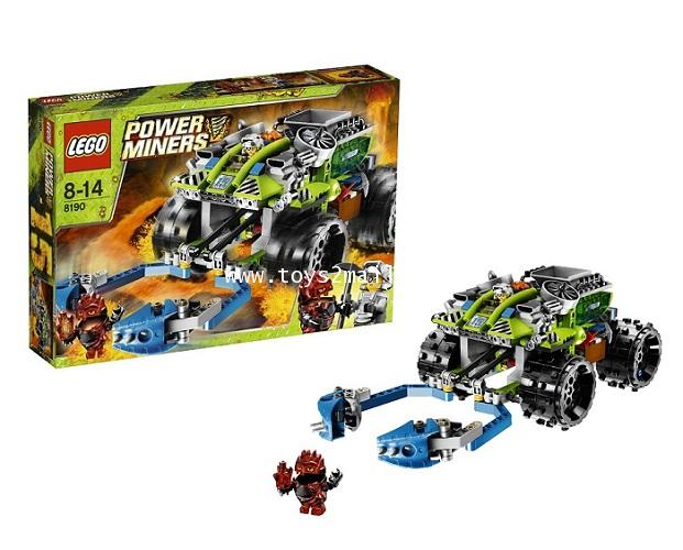 LEGO POWER MINERS : No. 8191 POWER MINERS : CLAW CATCHER [RARE] [SOLD OUT]