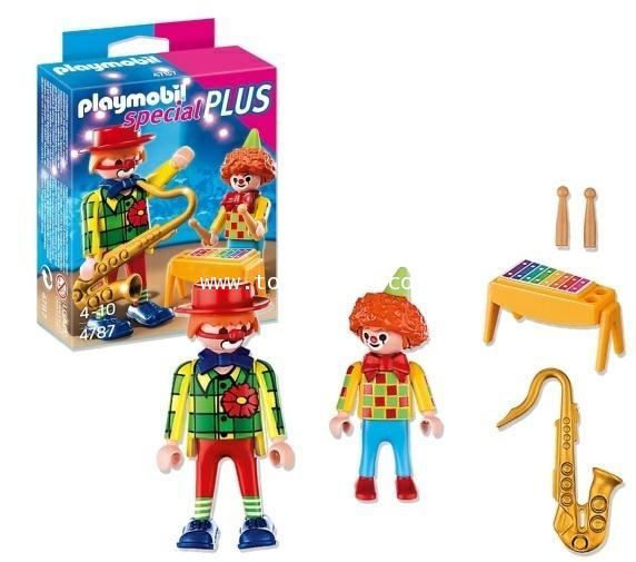 Playmobil : Playmobil Special PLUS No. 4787 : CLOWNS MUSICIENS ตัวตลกนักดนตรี [1]