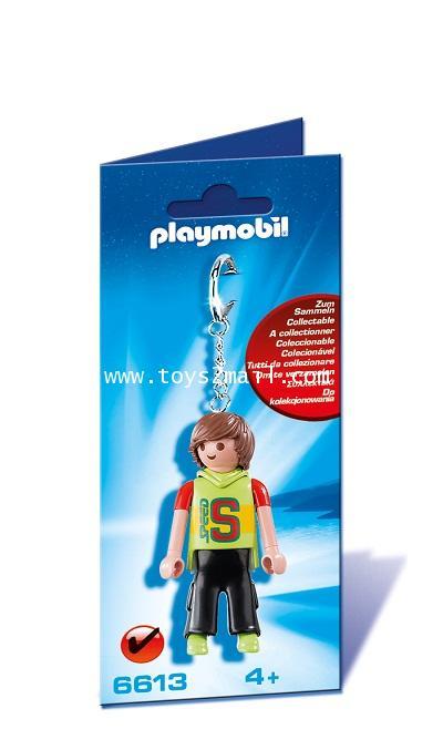 Playmobil : Playmobil ETC No. 6613 : KEYCHAINS TEENAGER พวงกุญแจ วัยรุ่น วัยโจ๋ [1]