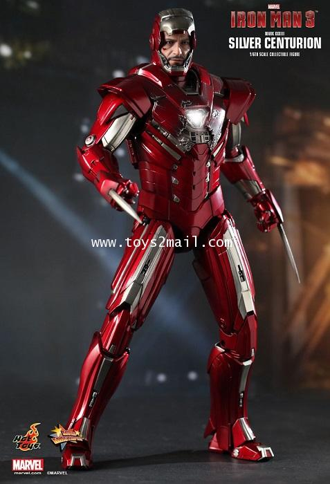 HOT TOYS : MMS-213 1/6 HOT TOYS IRON MAN SILVER CENTURION (Mk-33) Limited Edition 12-inch Figure [1]
