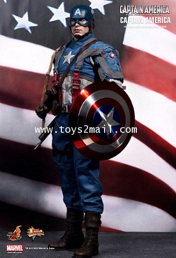 HOT TOYS : MMS-156 1/6 CAPTAIN AMERICA The First AVENGERS Limited Edition 12-inch Figure [SOLD OUT]