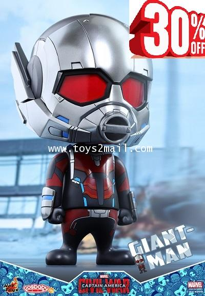 HOT TOYS COSBABY : CAPTAIN AMERICA CIVIL WAR : GIANT-MAN LIMITED EDITION สูง 23 cm. [SOLD OUT]