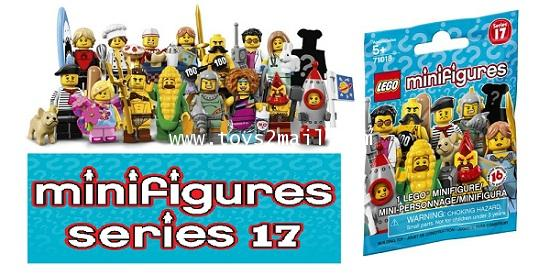 LEGO MINI FIGURE SERIES 17 ครบชุด 16 แบบ ซองสีฟ้า ปี 2017 ใหม่ล่าสุด พร้อมโค๊ท Online [2]
