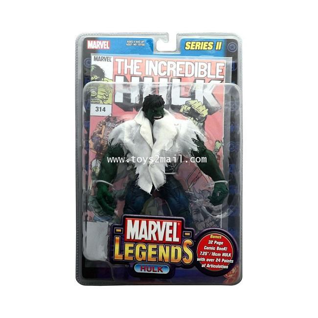 MARVEL LEGENDS TOY BIZ : 2002 MARVEL LEGEND SERIES II : THE INCREDIBLE HULK [RARE] [1]