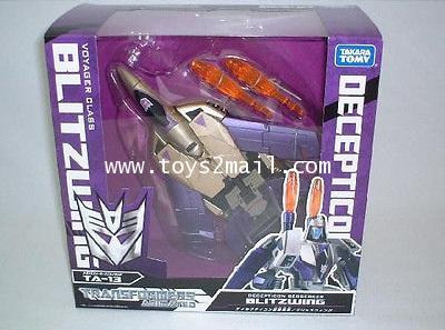 TRANSFORMERS ANIMATED : TA-13 VOYAGER BLITZWING TOMY TAKARA [RARE] [SOLD OUT]