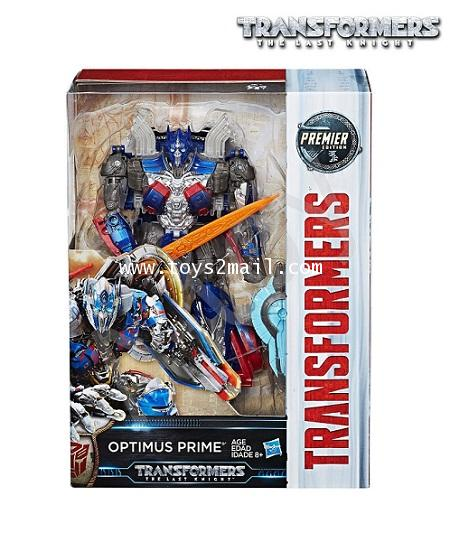 TRANSFORMERS 5 THE LAST KNIGHT : PREMIER EDITION VOYAGER OPTIMUS PRIME [SOLD OUT]