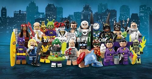 LEGO MINI FIGURE 2018 BATMAN THE MOVIE SERIES 2 : ซองสีน้ำเงิน LIMITED EDTION ครบชุด 20 ซอง [3]