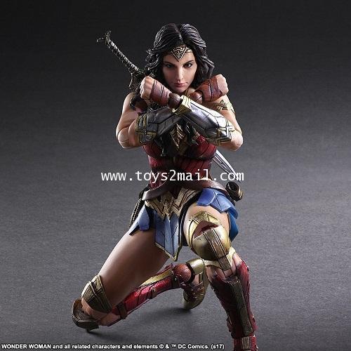 DC HERO : PLAY ARTS KAI : WONDER WOMAN Movie Ver. [1]