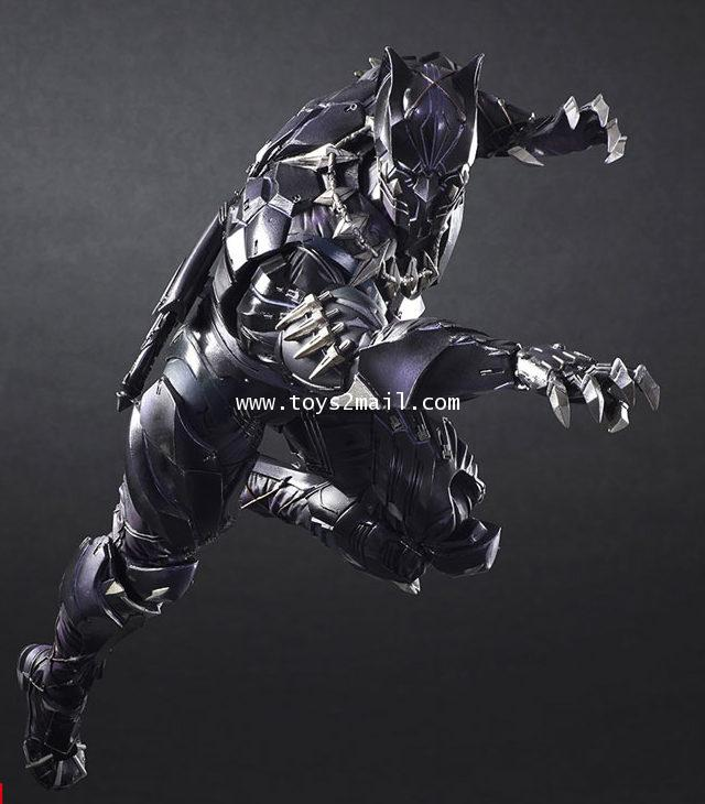 PLAY ARTS KAI 改 : VARIANT PLAY ARTS MARVEL UNIVERSE BLACK PANTHER จากค่าย SQEX TOYS [SOLD OUT]