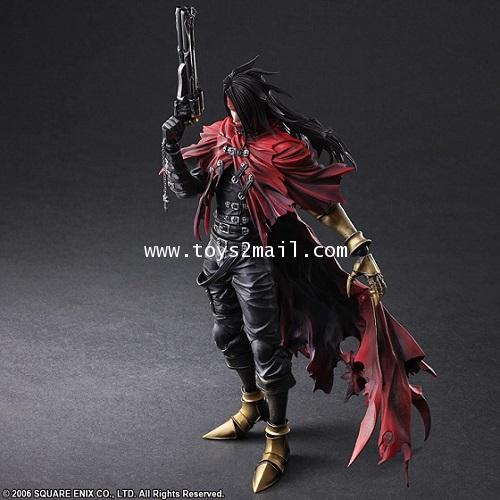 PLAY ARTS KAI 改 : DIRGE OF CARBERUS FINAL FANTASY VII : VINCENT VALENTINE [SOLD OUT]