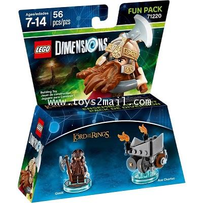 LEGO DIMENSIONS : No.71220 LEGO DIMENSIONS FUN PACK : LORD OF THE RING : GIMLI  [3]