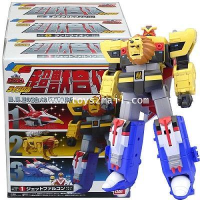 BANDAI : Super Mini-Pla : Liveman : LiveRobo สินค้าล๊อตญี่ปุ่น จาก Bandai [SOLD OUT]