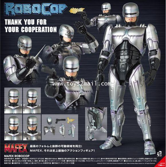 AF : MAFEX No.067 : ROBOCOP 1987 Ver. [New Body 2.0] ล๊อต JAPAN [SOLD OUT]