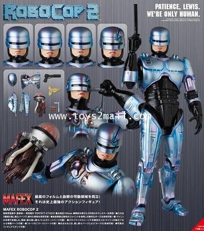 AF : MAFEX No.074 : ROBOCOP 2  ฉบับปี 1990 [New Body 2.0] ล๊อต JAPAN ของแท้ 100 [SOLD OUT]