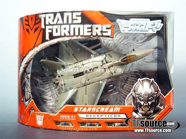 TRANSFORMER MOVIE : VOYAGER STARSCREAM TAKARA [RARE] [1]