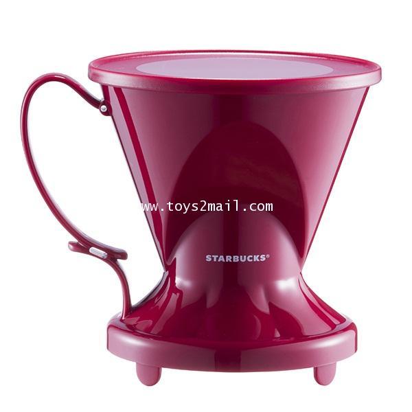 [ล้างสต๊อก] STARBUCKS : CLEVER COFFEE DRIPPER [RED] ที่ดริปกาแฟสีแดง จาก STARBUCKS TAIWAN [SOLD OUT]