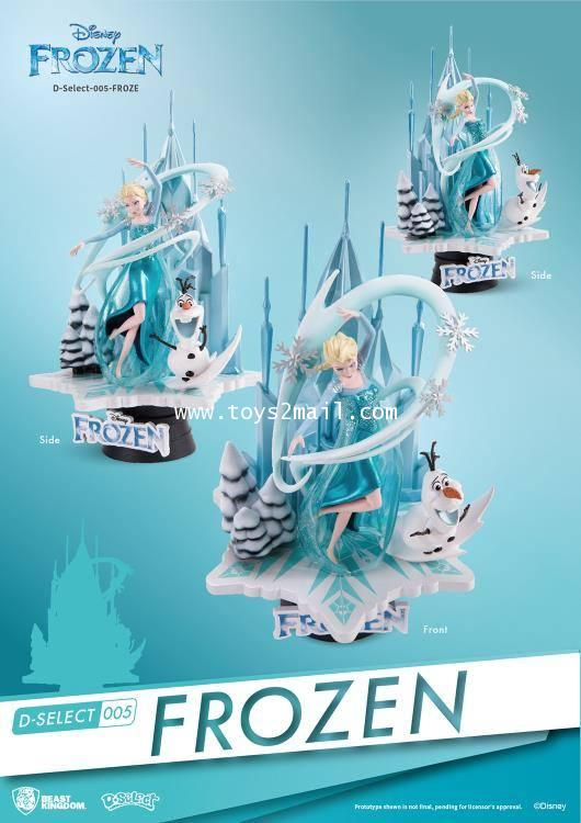 BEAST KINGDOM : D-SELECT 005 : FROZEN [SOLD OUT]
