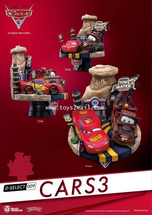 BEAST KINGDOM : D-SELECT 009 : CARS 3 [2]
