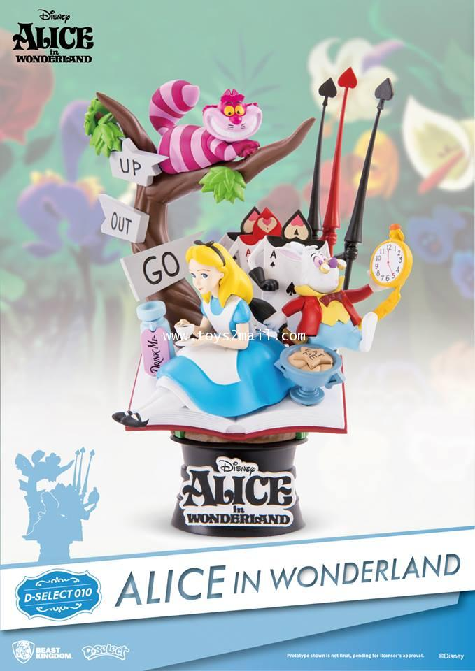 BEAST KINGDOM : D-SELECT 010 : ALICE IN WONDERLAND [SOLD OUT]