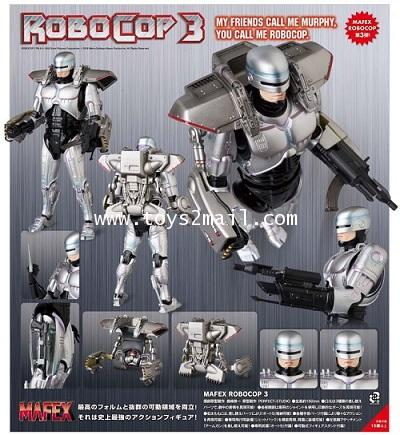 AF : MAFEX No.087 : ROBOCOP 3 [1993 Ver.] [New Body 2.0] ล๊อต JAPAN [1]