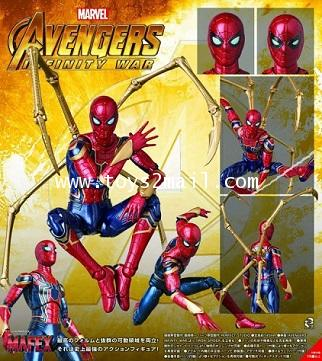 MARVEL : MAFEX No.081 AVENGERS : IRON SPIDER (INFINITY WAR Ver.) ล๊อตญี่ปุ่นแท้ [SOLD OUT]