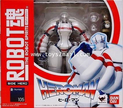 BANDAI : THE ROBOT SPIRIT : SIDER HERO No.105 : HEROMAN จากภายยนต์อนิเมชั่น ฮีโร่แมน Bandai [SOLD]