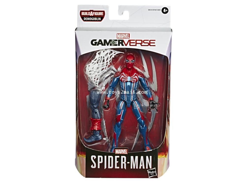 Marvel Legends Spider-Armor MK III (Demogoblin BAF) PS4 Video Game Ver. [2]