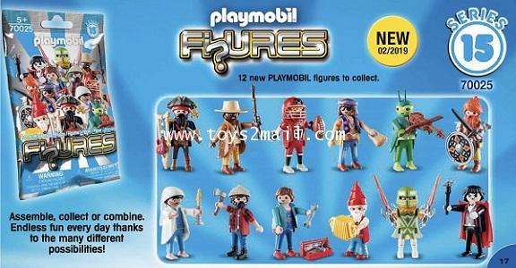 PLAYMOBIL : No.9141 FIUGRES SERIES 15 ฟิกเกอร์ซีรี่ 15 ครบชุด 12 แบบ [2]