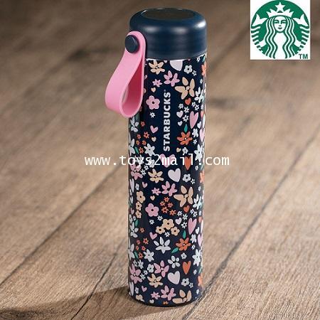STARBUCKS : 2018 Starbucks Taiwan SS Flower And Heart Tumbler 16oz ของแท้ 100 จากไต้หวัน [SOLD OUT]