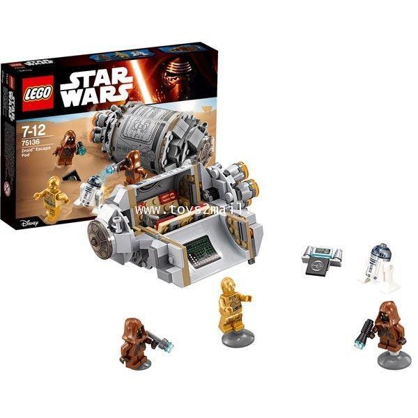 LEGO STAR WARS 75136 : Droid Escape Pod Pack กระสวยยานอวกาศ สินค้าจาก LEGO ของแท้ 100 [RARE] [2]