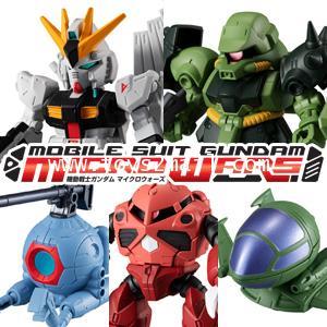 BANDAI : CANDY TOYS : MOBILE SUIT GUNDAM : MICRO WARS Vol.3 ครบชุด 5 แบบ สินค้าล๊อตญี่ปุ่น [1]