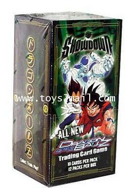 [ล้างสต๊อก] DRAGONBALL : CARDDASS DRAGON BALL Z TRADING CARD GAME SHOWDOWN BOOSTER PACK [Eng.] [1]