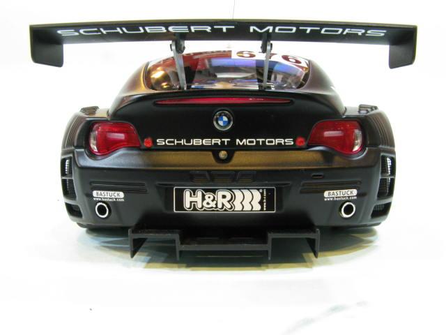 AUTOart 1:18 BMW Z4 COUPE quot;TEAM SCHUBERT 2006quot;676 5