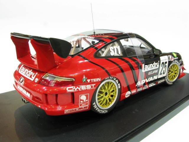AUTOart 1:18 PORSCHE 911(996) GT3 quot;SUPER TAIKYU 2005 25 1