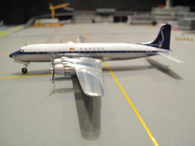 HERPA WINGS 1:200 SABENA DOUGLAS DC-6B OO-CTK HW554916 1