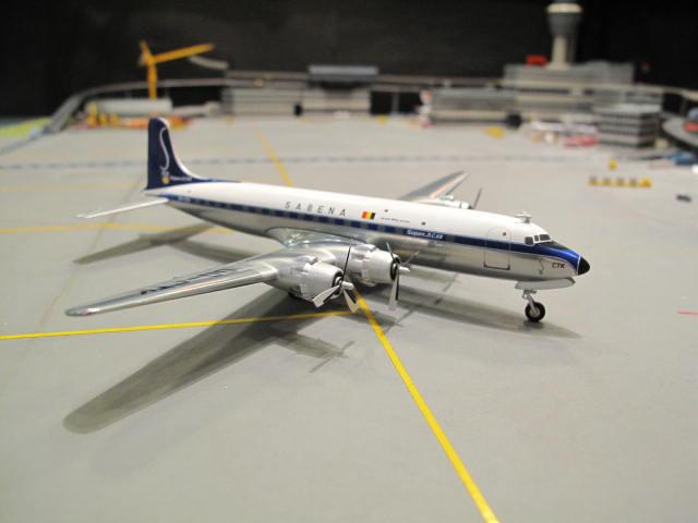 HERPA WINGS 1:200 SABENA DOUGLAS DC-6B OO-CTK HW554916 2