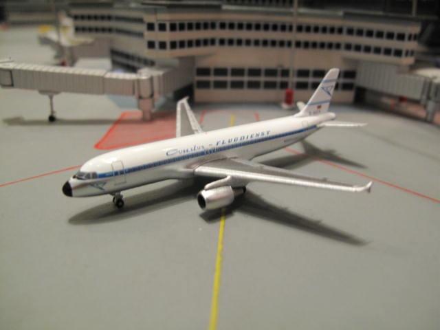 HERPA WINGS 1:500 CONDOR RETRO JET HANS A320 D-AICA HW519311