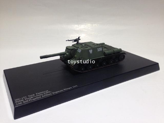 HOBBY MASTER 1:72 ISU-152 Tank Destroyer Polish LWP HG7022 2