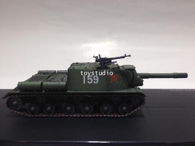 HOBBY MASTER 1:72 ISU-152 Tank Destroyer Chinese HG7021 1