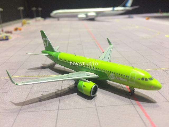 GEMINI JETS 1:400 S7/SIBIR A320neo VQ-BCF GJ1699