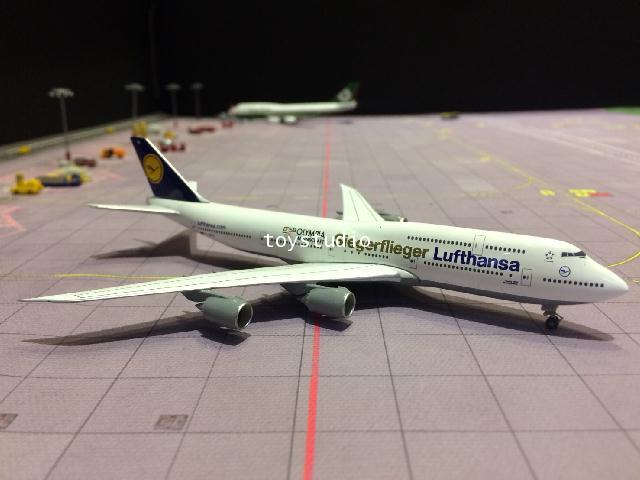 HERPA WINGS 1:500 Luthansa 747-8 D-ABYK Siegerfieger Olympia HW530026