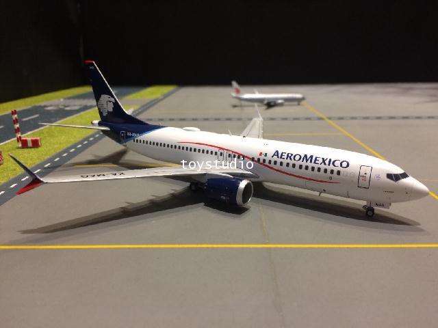 GEMINI JETS 1:200 Aeromexico 737 MAX-8 XA-MAG G2708