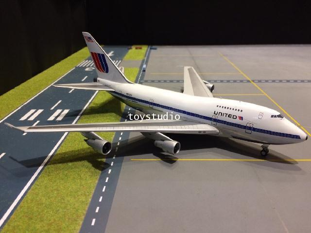 INFLIGHT 1:200 United 747SP N532PA IF747SPUA0818P