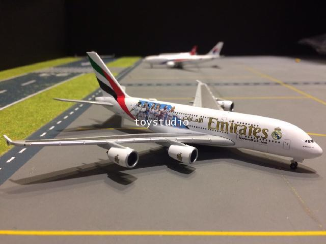 HERPA WINGS 1:500 Emirates A380 Real Madrid (2018) HW531931